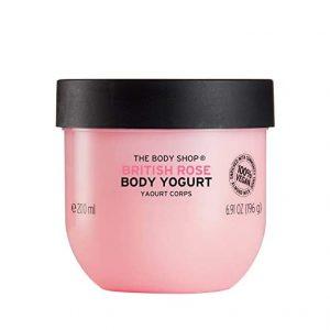 The Body Shop British Rose Body Yogurt, 198 g